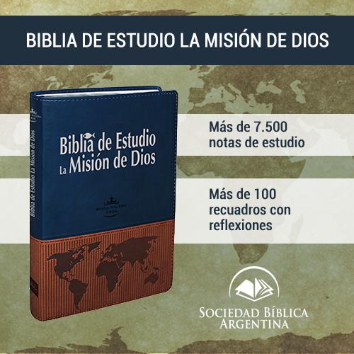 Biblia de estudio La Mision de Dios