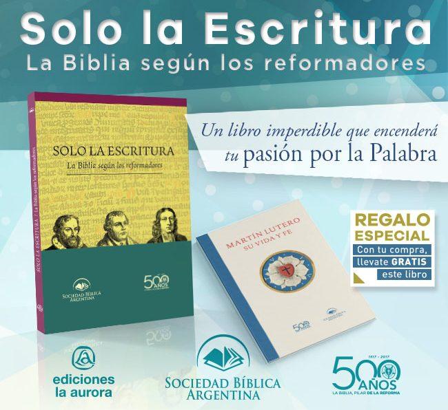 Libro  Solo la Escritura