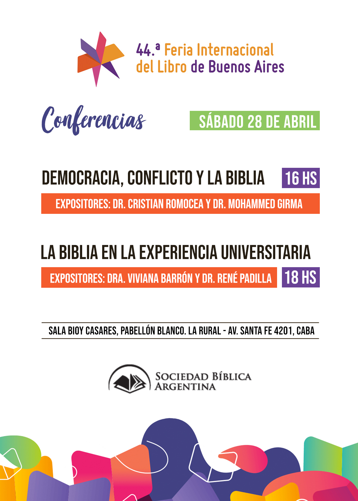 Folleto Conferencias FIL OK