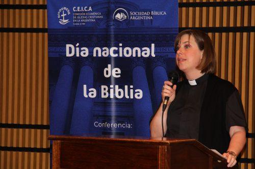 Día Nacional de la Biblia en el CCK - Sonia Skupch, presidenta CEICA